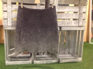 Falda de lana reciclada | Elisa Muresan ropa ecológica