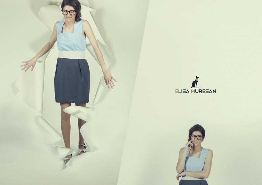 Falda y blusa algodón orgánico | Elisa Muresan