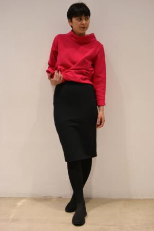 falda-tubo-negra | Elisa Muresan moda sostenible
