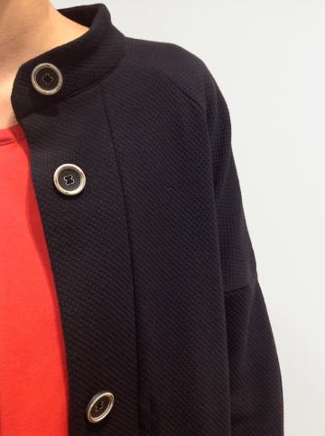gabardina detalle | Elisa Muresan moda sostenible