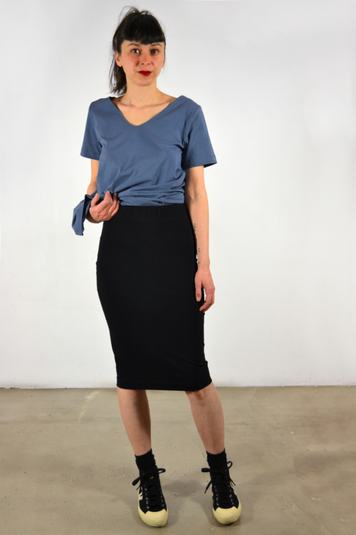 falda-tubo | Elisa Muresan moda sostenible