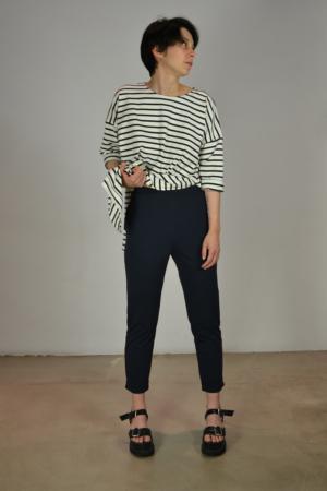 pantalon-basico-navy | Elisa Muresan ropa ecológica