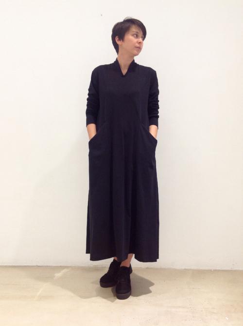 vestido-rayo-negro | Elisa Muresan moda sostenible