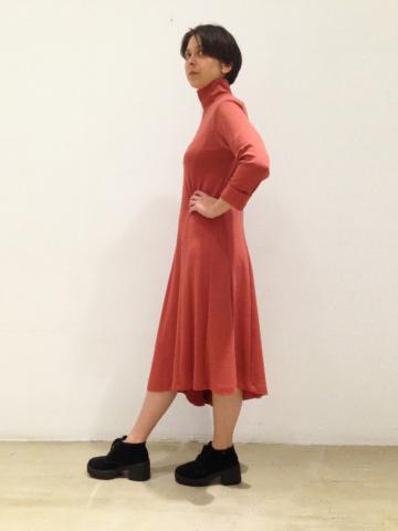 vestido-marsala-lateral | Elisa Muresan ropa ecológica
