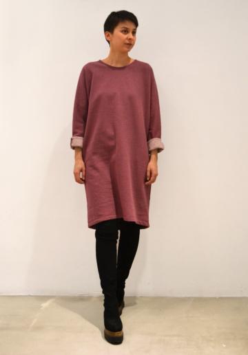 Vestido-rosa-antiguo | Elisa Muresan moda sostenible