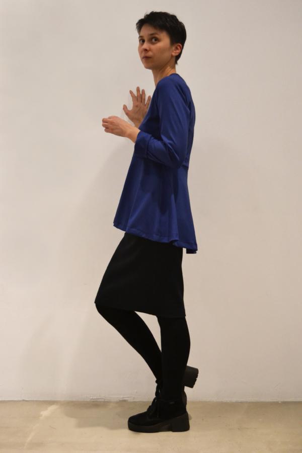 camiseta-volante-lateral | Elisa Muresan ropa ecológica