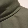 jersey-verde-detalle | Elisa Muresan moda sostenible