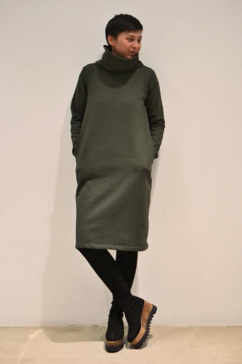 vestido-corto-verde | Elisa Muresan moda sostenible