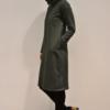 vestido-corto-verde-lateral | Elisa Muresan ropa ecológica
