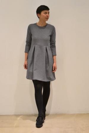 vestido-falda-palas | Elisa Muresan ropa ecológica