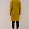 vestido-over-mostaza-espalda | Elisa Muresan moda sostenible