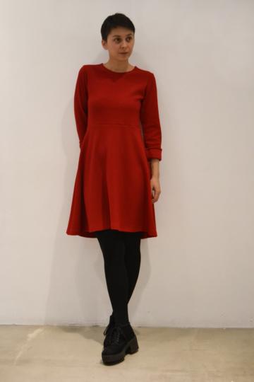 vestido-rojo | Elisa Muresan ropa ecológica