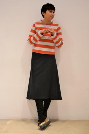 Falda-midi | Elisa Muresan ropa ecológica
