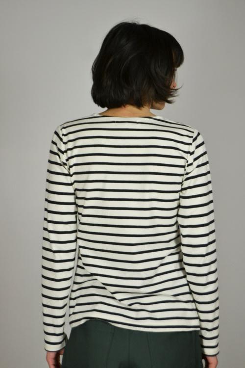 camiseta-basica-rayas-detras   Elisa Muresan moda sostenible