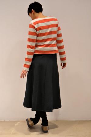 falda-midi-espalda | Elisa Muresan ropa ecológica