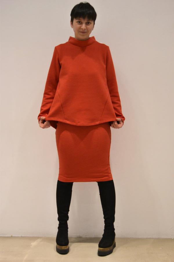 jersey-godets | Elisa Muresan moda ecológica