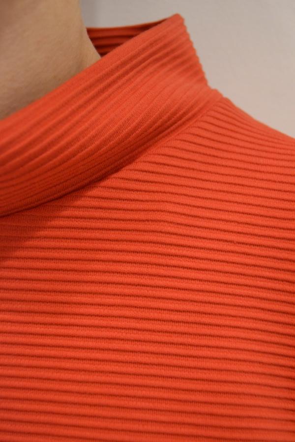 jersey godets detalle | Elisa Muresan moda sostenible