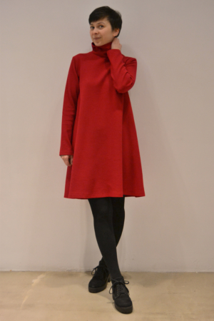 vestido capa | Elisa Muresan moda sostenible