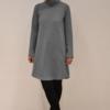 vestido-gris-evase | Elisa Muresan ropa ecológica