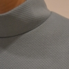 vestido-gris-evase-detalle | Elisa Muresan moda sostenible
