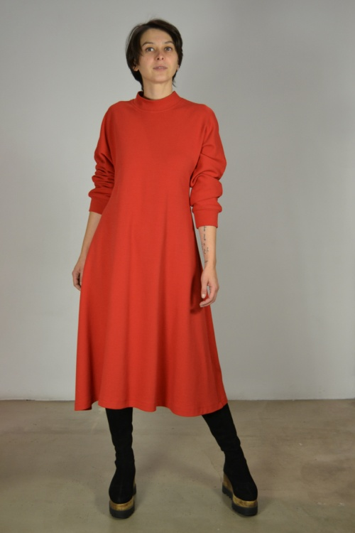 vestido-midi-aurora | Elisa Muresan ropa ecológica