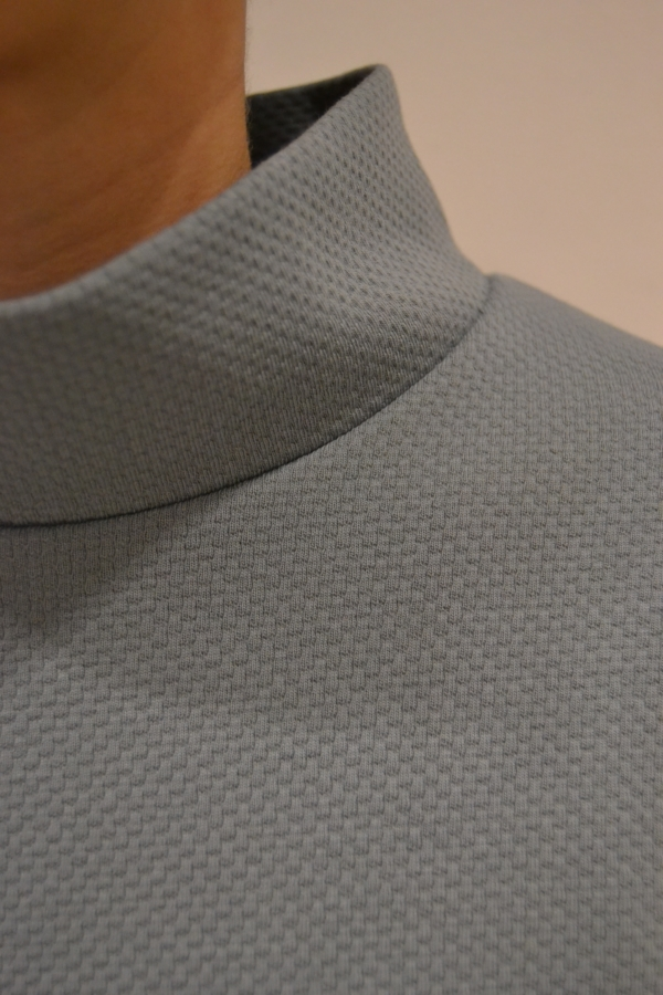 vestido-over-gris-detalle | Elisa Muresan ropa ecológica