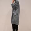 vestido-over-gris-lateral | Elisa Muresan ropa ecológica