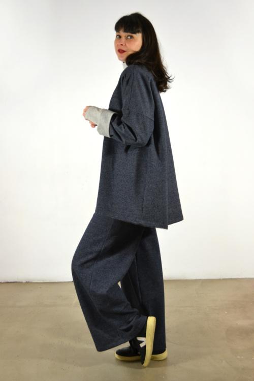 Chaqueta-kimono-lateral | Elisa Muresan ropa ecológica