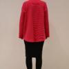 chaqueta-magenta-espalda | Elisa Muresan ropa ecológica