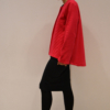 chaqueta-magenta-lateral | Elisa Muresan moda sostenible