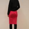 falda-tubo-magenta-espalda   Elisa Muresan moda sostenible