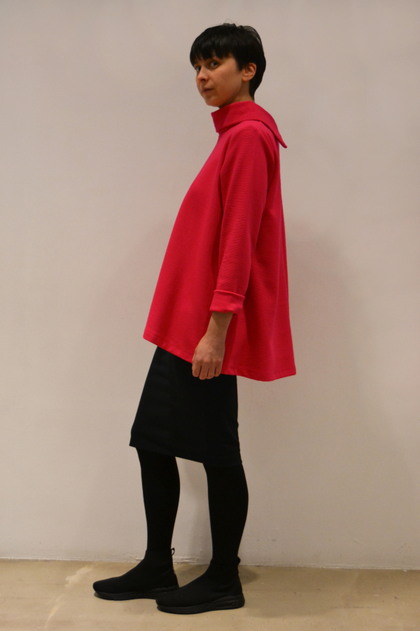 jersey-magenta-lateral | Elisa Muresan ropa ecológica