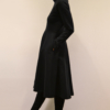 vestido-cuello-tira-lateral | Elisa Muresan moda sostenible