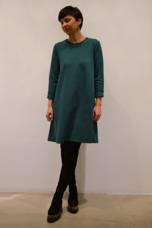 vestido-verde | Elisa Muresan moda sostenible