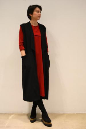 Chaleco-largo | Elisa Muresan ropa ecológica