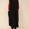 Chaleco-largo-detras | Elisa Muresan ropa ecológica
