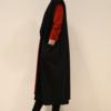 Chaleco-largo-lateral | Elisa Muresan moda sostenible