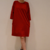 vestido-over-rojo | Elisa Muresan ropa ecológica