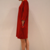 vestido-over-rojo-lateral | Elisa Muresan moda sostenible
