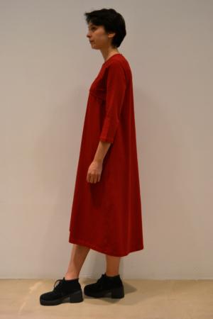 vestido-tejadillo-lateral | Elisa Muresan moda sostenible