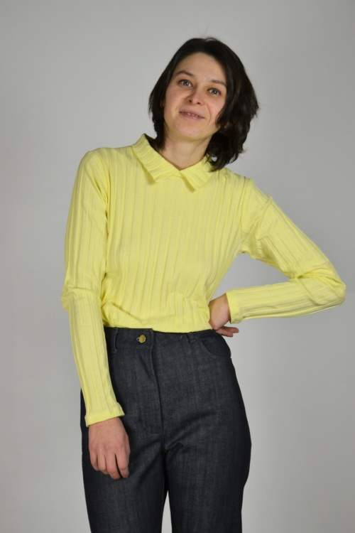 Jersey canale camisero | Elisa Muresan ropa ecológica