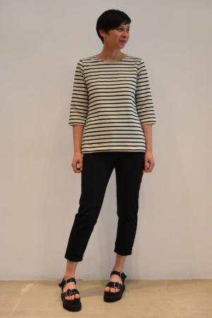 camiseta-basica-BN | Elisa Muresan ropa ecológica