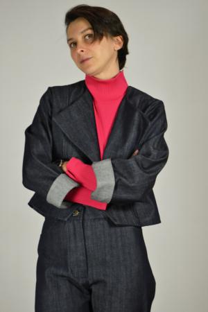 chaqueta-vaquera-detalle | Elisa Muresan moda sostenible