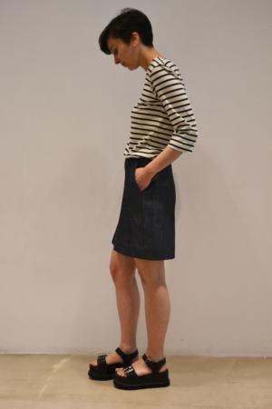 falda-vaquera-lateral | Elisa Muresan ropa ecológica
