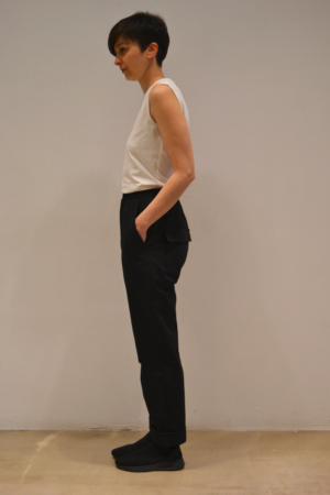 pantalon-work-lateral | Elisa Muresan moda sostenible