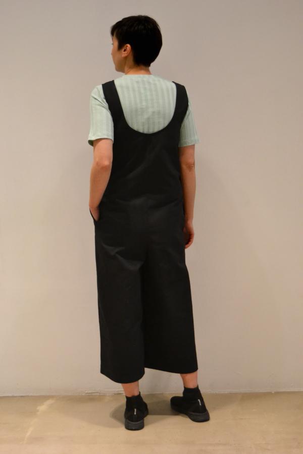 peto-negro-espalda | Elisa Muresan moda sostenible