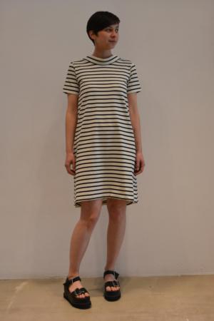 vestido-raya-BN | Elisa Muresan ropa ecológica