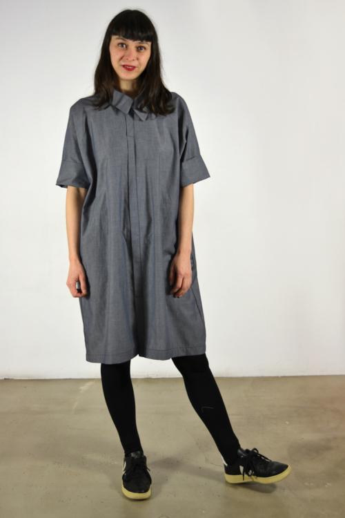 camisero-navy | Elisa Muresan moda sostenible