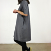camisero-navy-lateral | Elisa Muresan moda sostenible