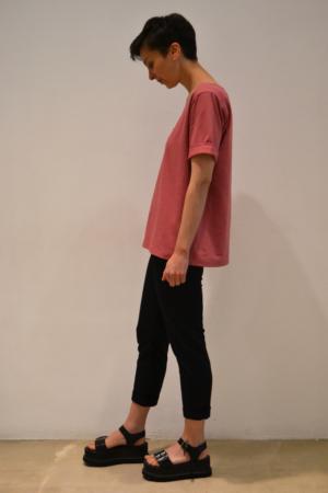 camiseta-bolsillo-lateral | Elisa Muresan moda sostenible
